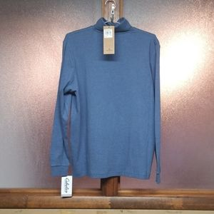 Woolrich blue heather turtleneck